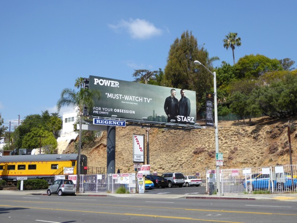 Starz Power 2016 Emmy FYC billboard