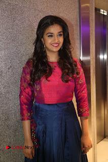 Actress Keerthi Suresh Stills at Remo Success Meet  0097.JPG
