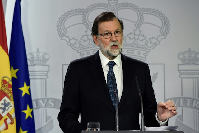 Spanish PM won't rule out suspending