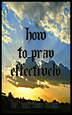 How to pray effectively book