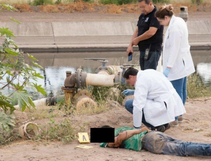 ¡Sin piedad! Lo ejecutan de 30 balazos en Culiacán.