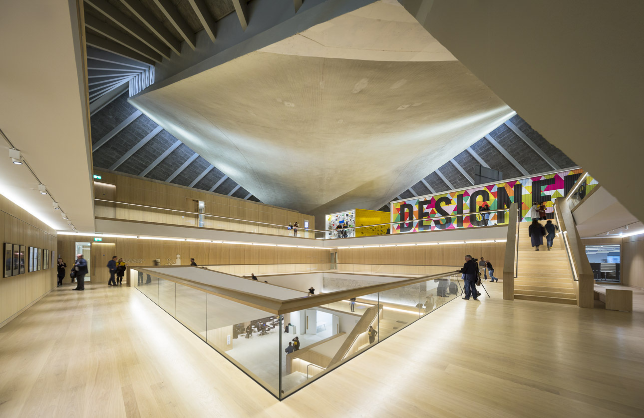 A Look at The Inside of London's New Design Museum Through the Lens of Luc Boegly & Sergio Grazia