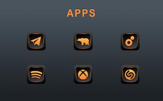 Orange Dude Icon Pack v1.6.0 [Patched] APK