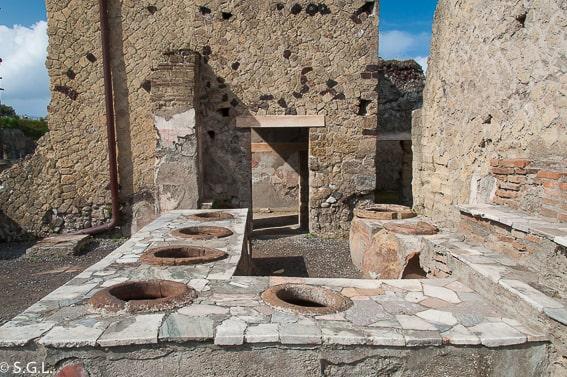 Herculano. Recorrido por Napoles y alrededores