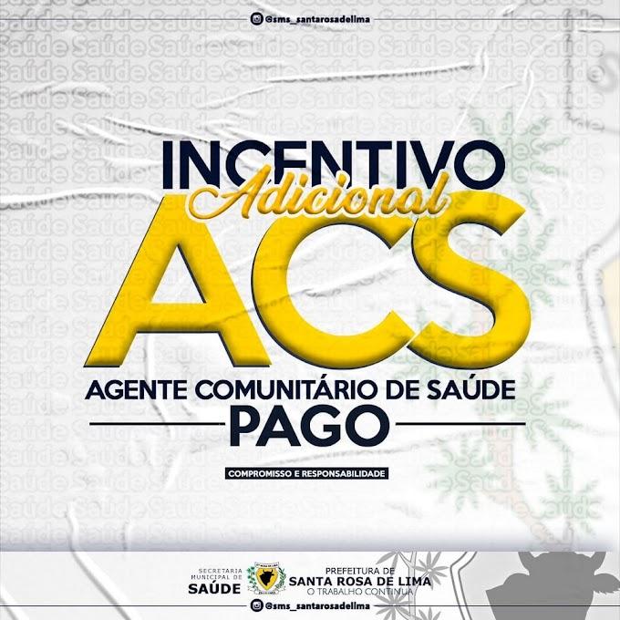 Prefeitura de Santa Rosa de Lima paga o Incentivo Financeiro Adicional (14º)