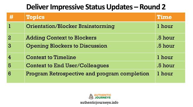 Take Status Updating to the Next Level
