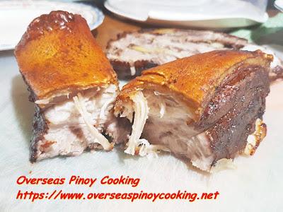 Pork Belly Lechon sa Oven