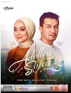 Adellea sofea, drama terbaik mira filzah, drama bersiri tv3,