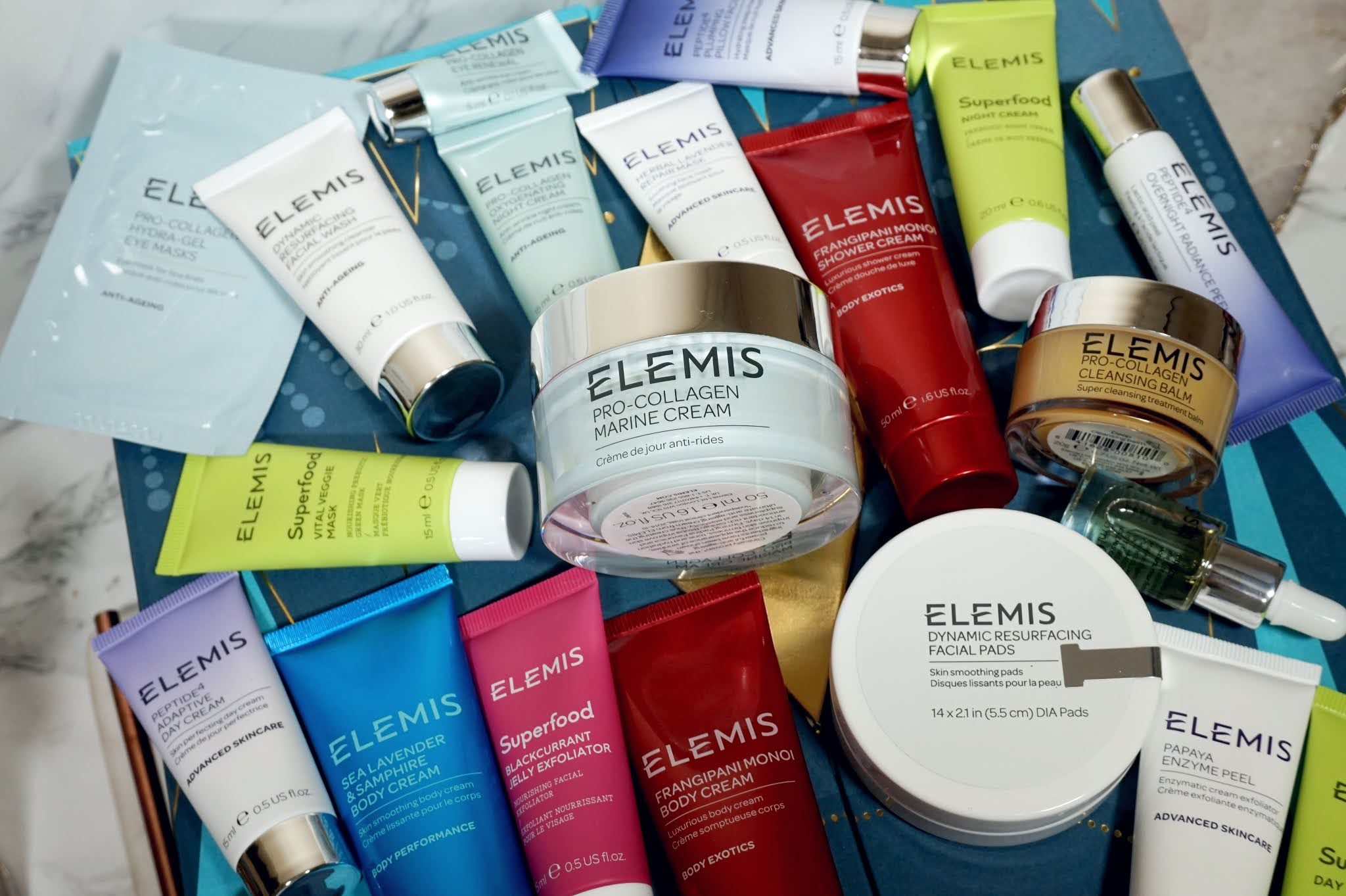 Elemis 25 Days of Spectacular Skin Advent Calendar Review
