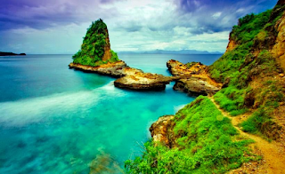 Pantai Tanjung Bloam Pantai Indah di Lombok Timur