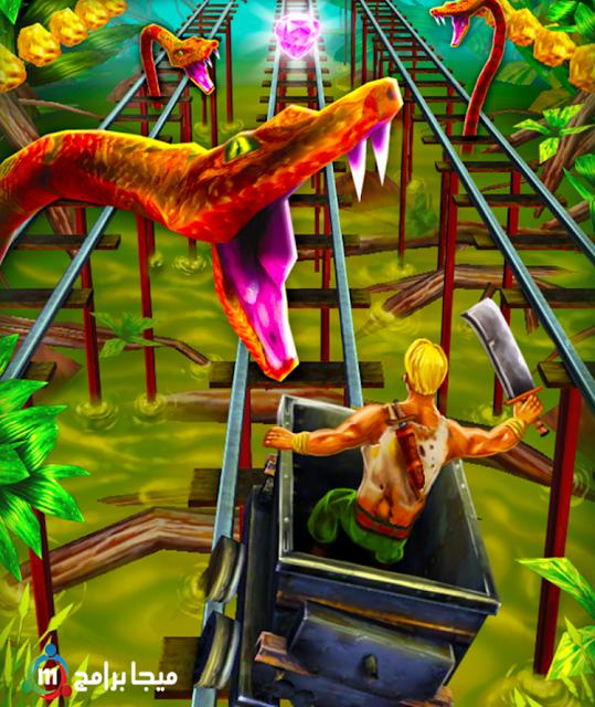 تحميل Rail Rush لعبة مغامرات في مناجم الذهب ريل رش أخر إصدار