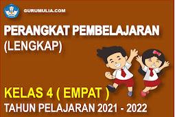 Perangkat Pembelajaran Lengkap SD Kelas 4 Kurikulum 2013 Tahun Pelajaran 2021-2022