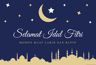 Gambar dan Kata-kata Ucapan Hari Raya Idul Fitri 2017/1438 H Terbaru