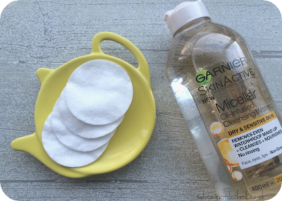 garner oil infused micellar water review