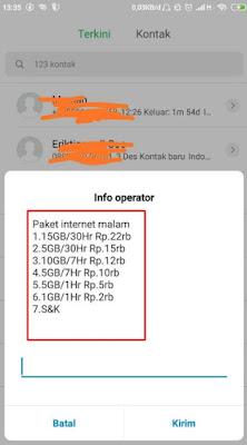 Dial Pembelian Kuota Malam Telkomsel