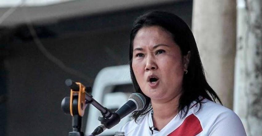KEIKO FUJIMORI: Lideresa de Fuerza Popular afirmó que no aceptará resultados y posible proclamación de Castillo
