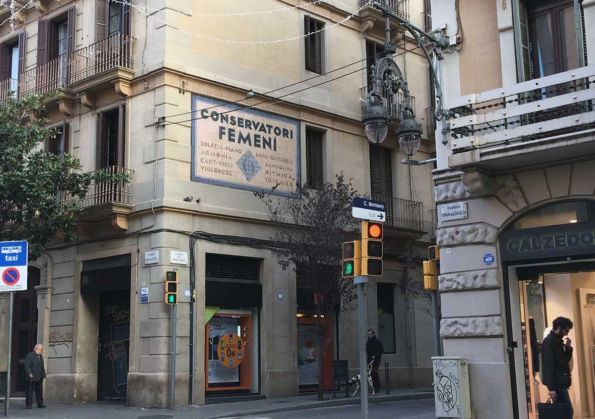 Conservatori. Gracia (Barcelona), 2019