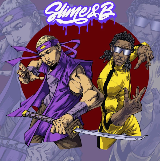 Chris Brown & Young Thug Team Up for Unlikely Collab--Slime & B