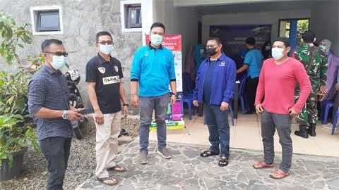 Partai Nasdem Kabupaten Dharmasraya Gelar Vaksinasi Perdana