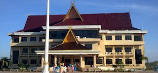 Kantor gedung bupati Kabupaten Rokan Hulu (Rohul)
