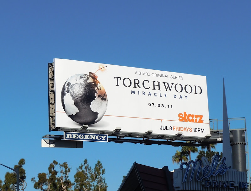 Torchwood Miracle Day Starz billboard
