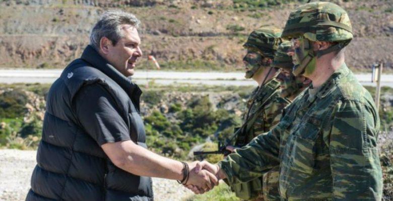 Καμμένος: Από το ΄74 έχουμε ακήρυχτο πόλεμο με Τουρκία
