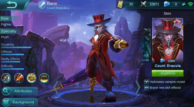 Quotes kata-kata Bane Mobile Legends
