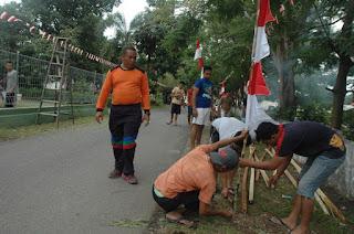 11.700 Bendera Merah Putih Berkibar di Daerah Korem 11 Lilawangsa