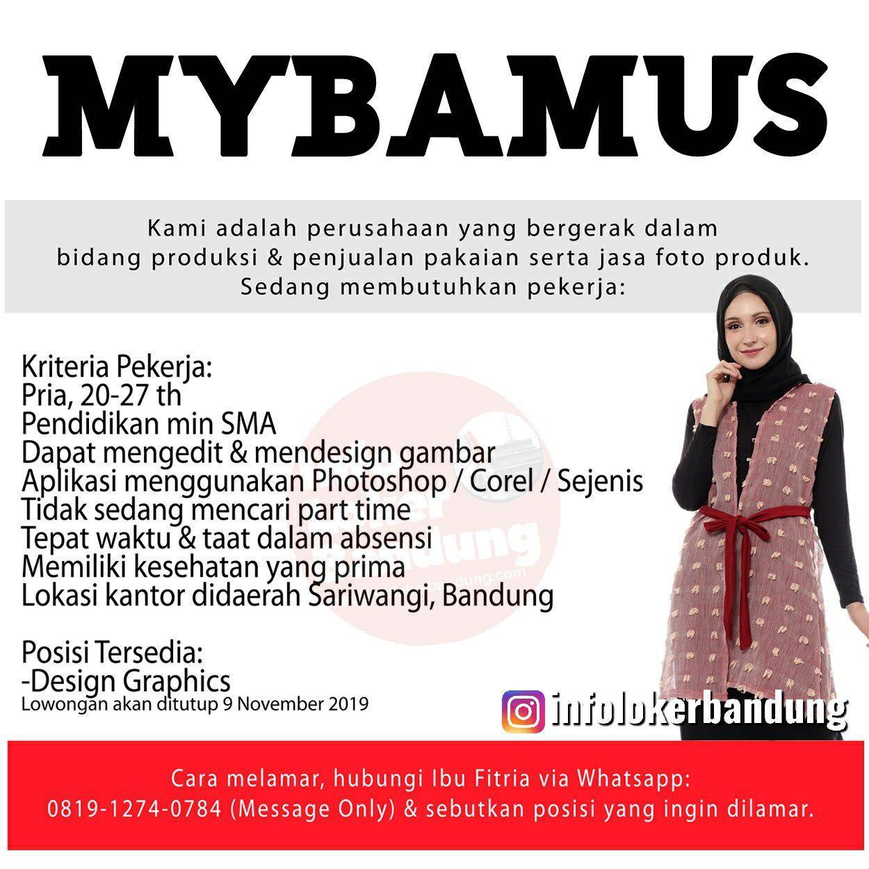 Lowongan Kerja Mybamus Bandung November 2019