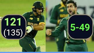 Sri Lanka vs South Africa 2nd ODI 2021 Highlights