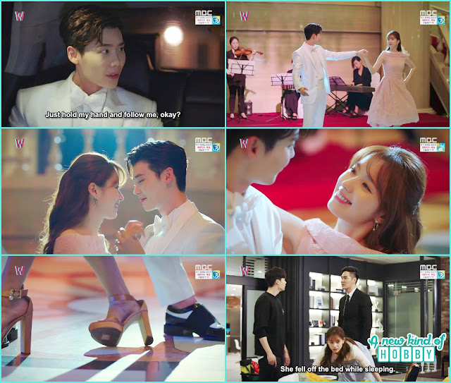 yeon jo and kang chul party dance- W - Episode 8 Review
