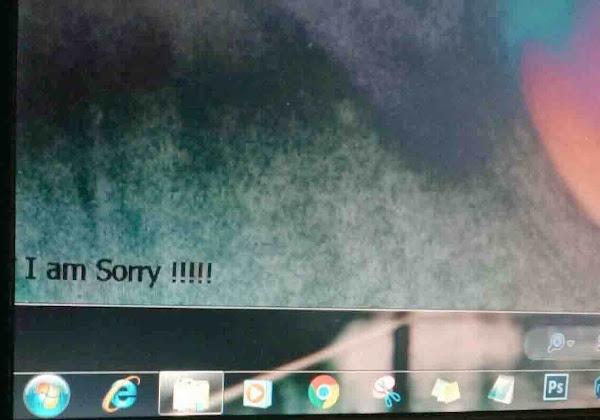 windows terserang virus I am Sorry
