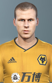 PES 2019 Faces Ryan Bennett by Champions1989