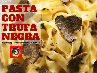 Receta de Pasta con Trufa Negra, para Comidas Ricas y Sanas