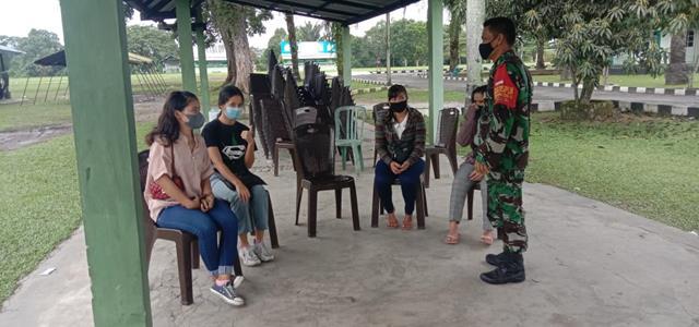 Dengan Melaksanakan Operasi PPKM Diwilayah Binaan Dilakukan Personel Jajaran Kodim 0207/Simalungun