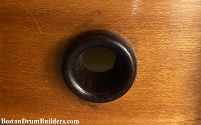wooden grommet