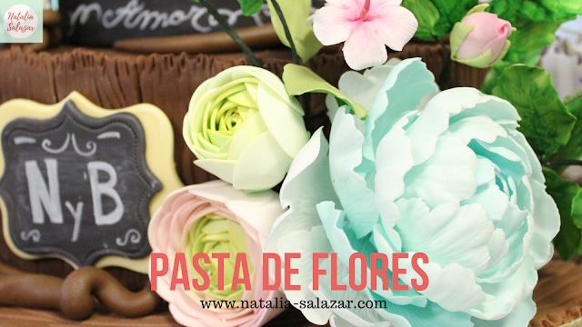 Receta pasta de flores de azúcar