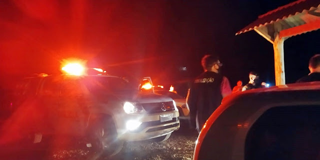 Roncador: Polícia acaba com festa clandestina na noite de sábado