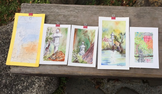 concord art association plein air paintings