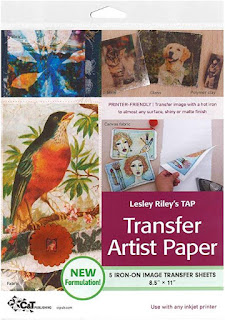 transfer artist paper-printable fabric-transfer paper-inkjet printer paper-quilted images