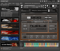 Free download Native Instruments Abbey Road Modern Drummer KONTAKT Library