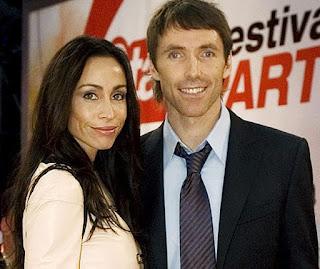 Lilla Frederick's husband Steve with his ex-wife Alejandra