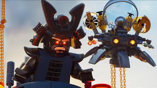 la lego ninjago pelicula: nuevo poster con el equipo completo