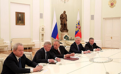 Former heads of Buryatia, Karelia, Perm Territory, Novgorod and Ryazan regions.