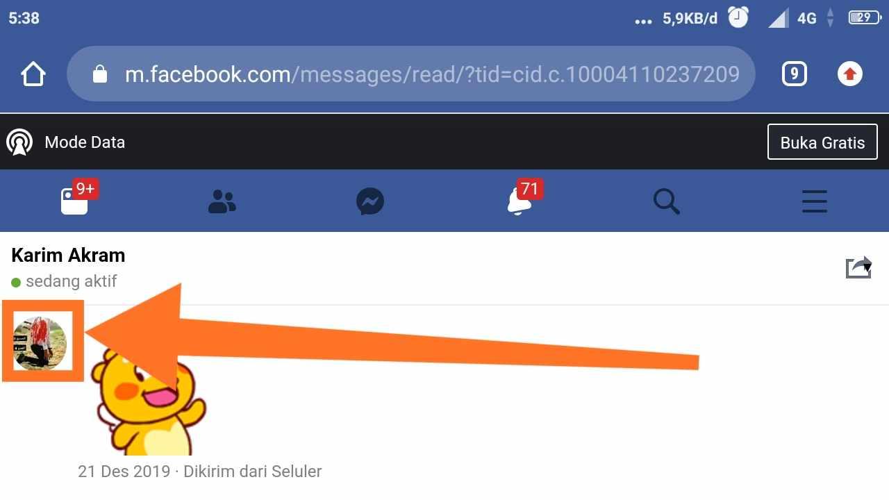 Cara mengunci akun Facebook orang lain
