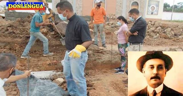 Encuentran los restos de los padres de José Gregorio Hernández por debajo de una plaza de Isnotú