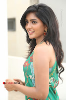 Actress Eesha Latest Pos in Green Floral Jumpsuit at Darshakudu Movie Teaser Launch .COM 0115.JPG