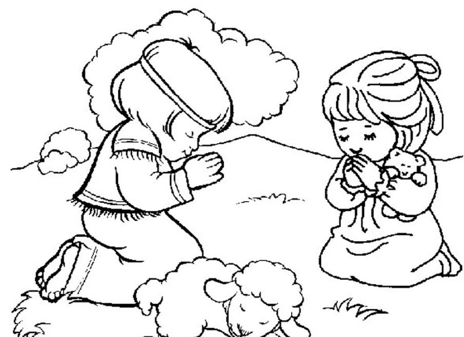 Kumpulan Buku Mewarnai Sekolah Minggu Gambar Yesus Dan Lain Lain