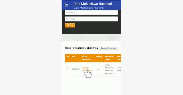 Cek Data Mahasiswa Terdaftar Atau ilegal di Pangkalan Data Pendidikan Tinggi