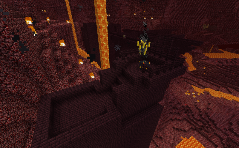 Minecraft Wiz: NETHER BRICK! FRESH FROM THE NETHER FORTRESS!